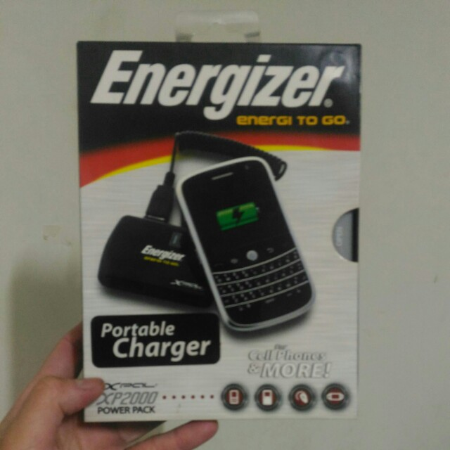 Energizer Portable Charger  行動電源啦