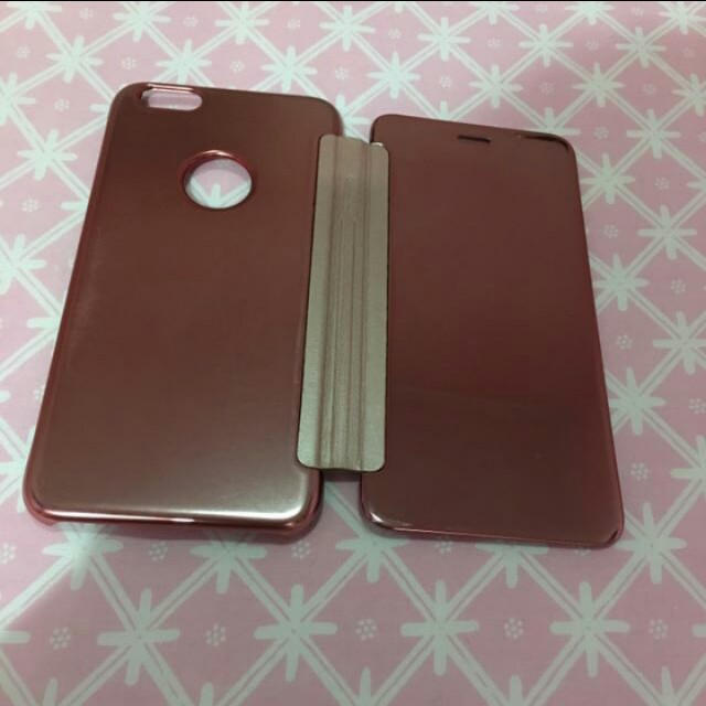 Flip electroplate case for Iphone 6s plus