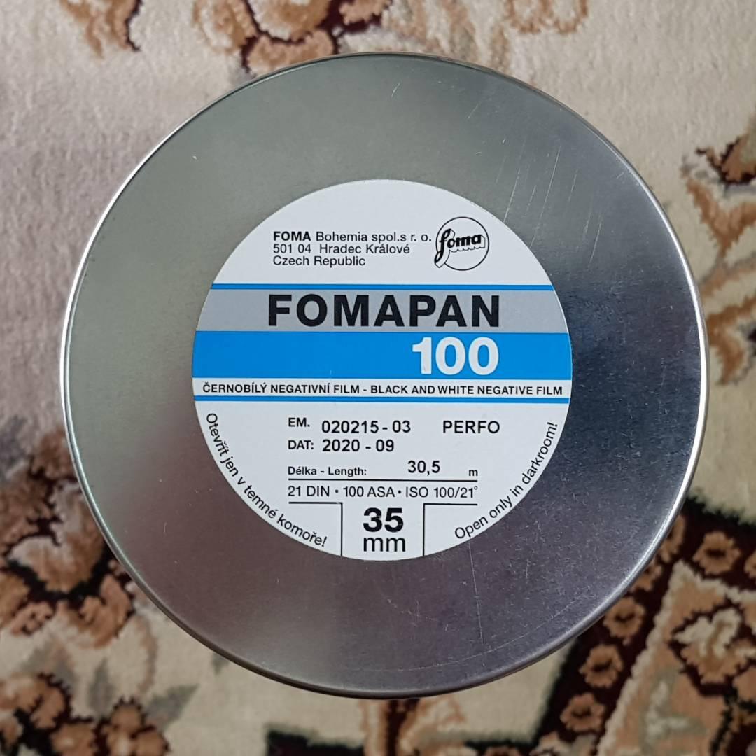 35mm Fomapan Classic 100 30.5m Black & White Fresh Bulk Film ( iso 100 ) 135 format