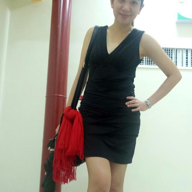 Forever 21 Black sexy dress