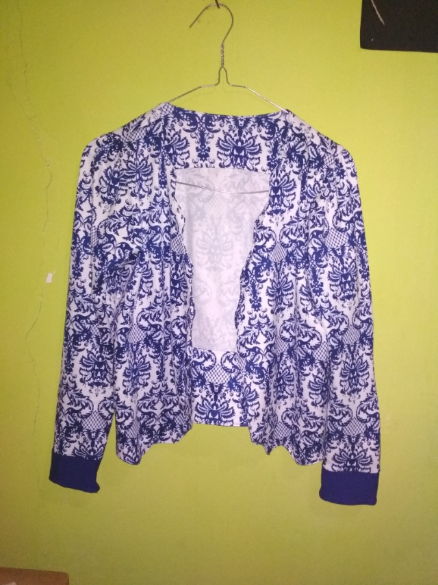 #FreeOngkir Blue outer