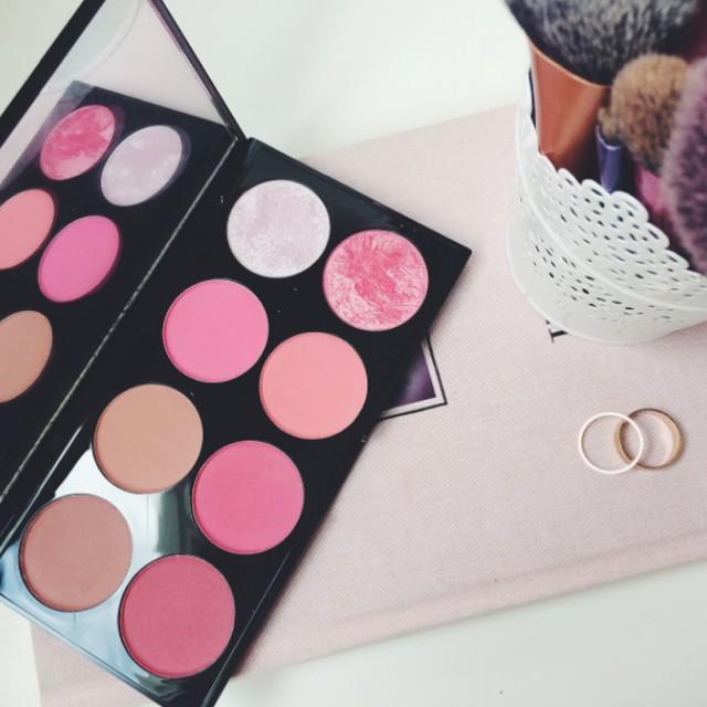 Freepos Makeup Revolution Ultra Blush Palette Sugar N Spice