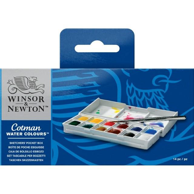 Freepos Winsor Newton Cotman Pocket Watercolours