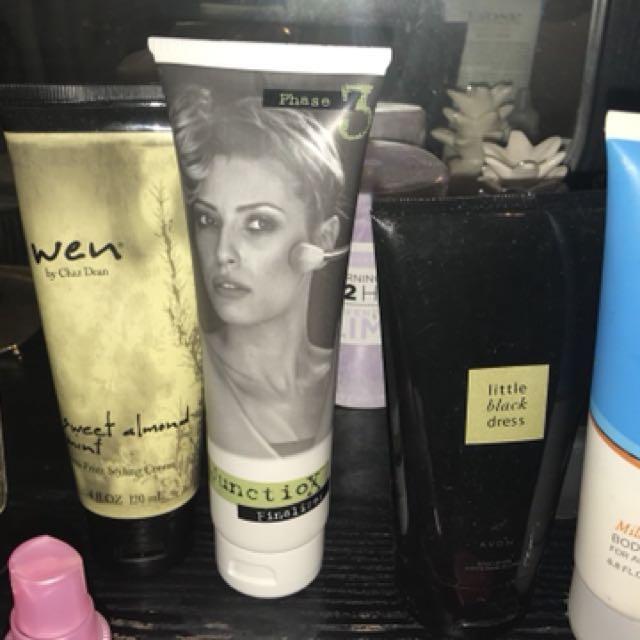 Hair care +body lotions bulk