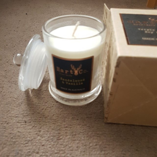 Hart & Co triple scented candle