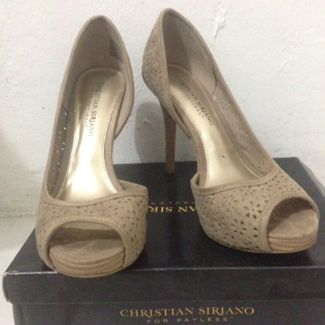 Heels Nude Christian Siriano By Payless