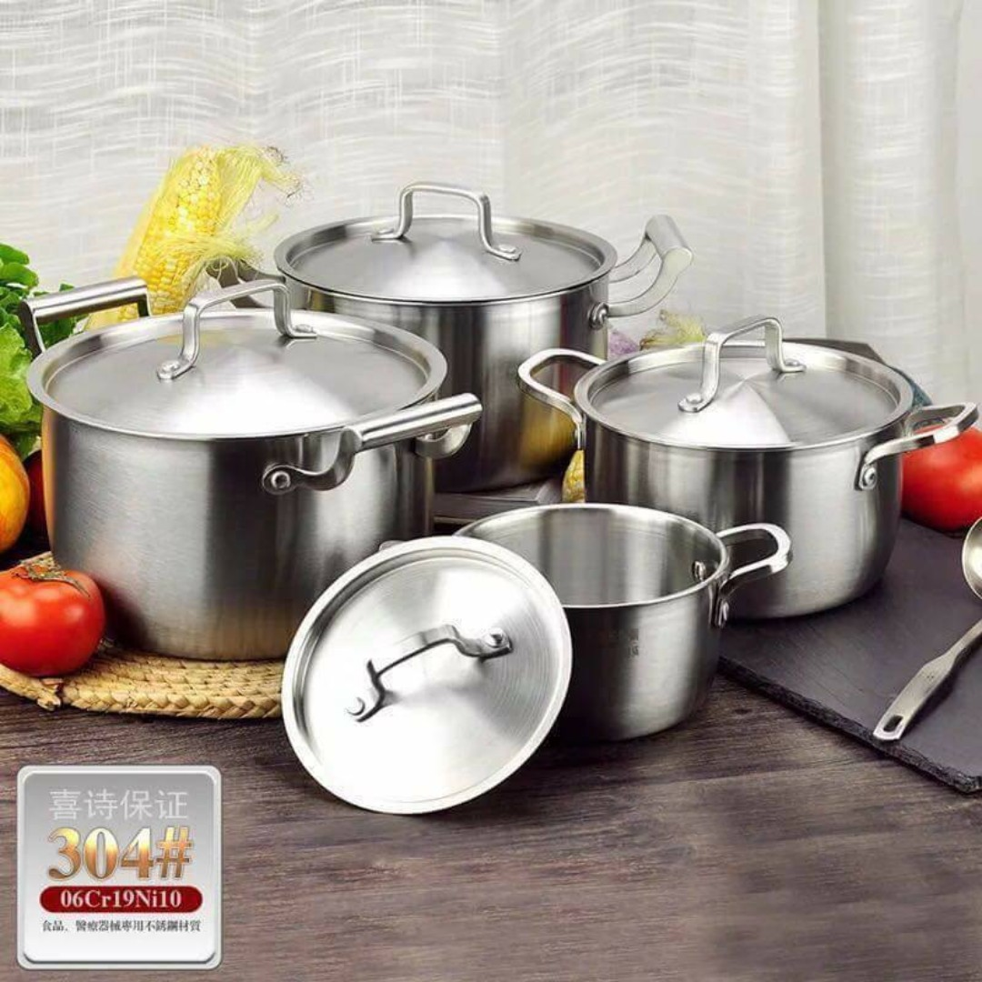 High Grade Stainless Steel Ware Soup Pot
