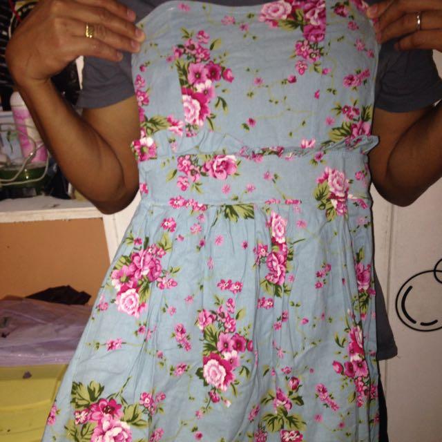 Hip Culture Floral Tube Dress