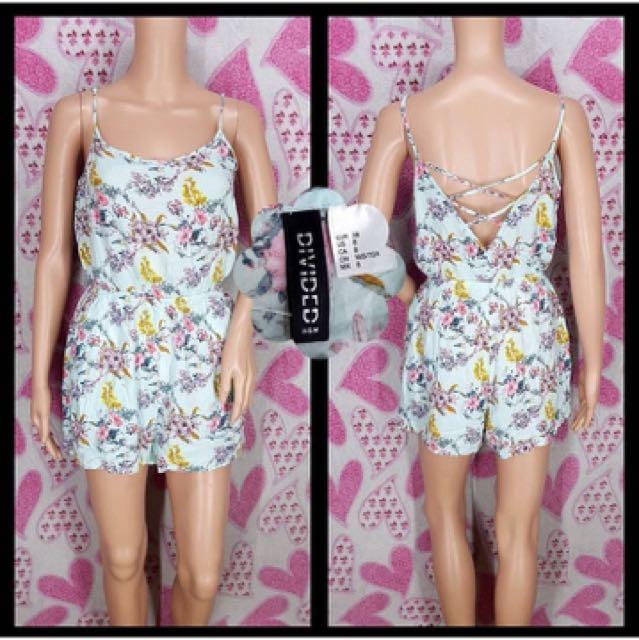 H&M Floral Romper