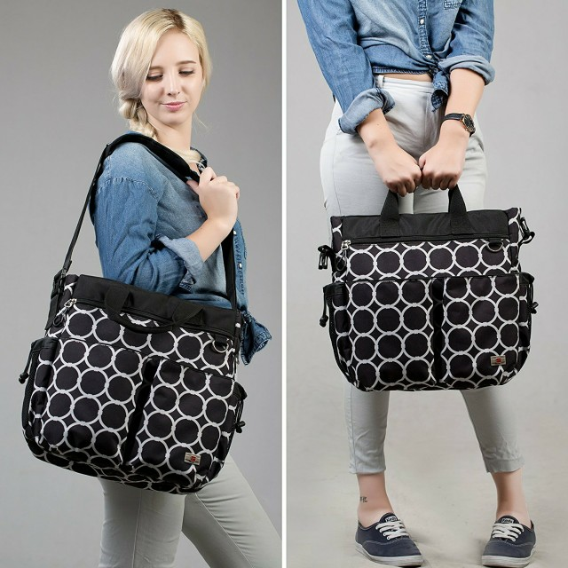 Huge 13 Pocket Unisex Bag with Shoulder Strap