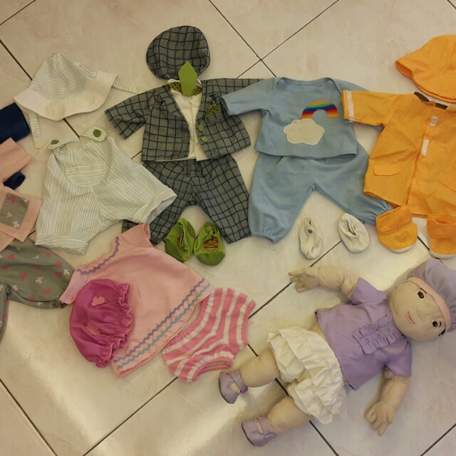 Ikae Toy Baby with Clothes Set