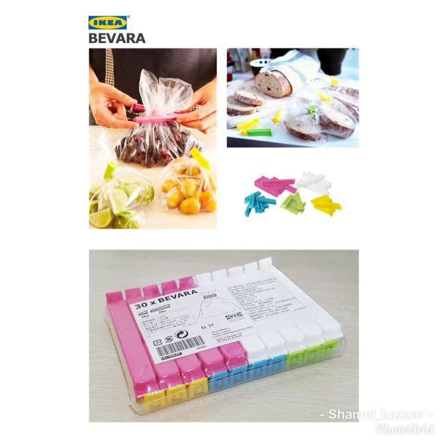 IKEA BEVARA 30pcs sealing clip
