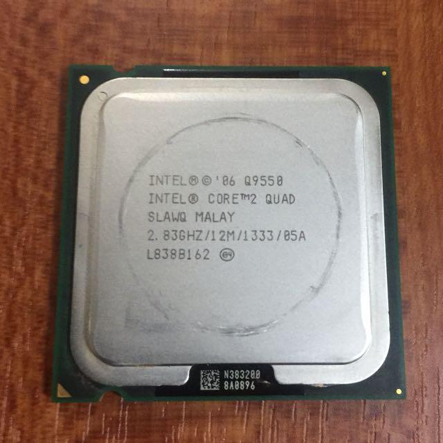Intel Quad Core CPU Q9550 2.83Ghz Gaming Processor