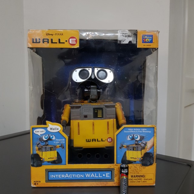 Interactive Talking with Lights Wall-E Disney Pixar by Thinkway