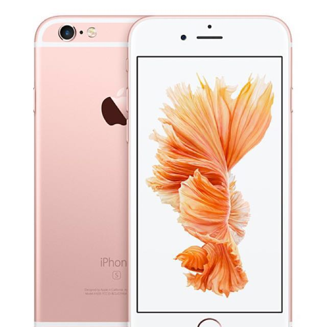 iPhone 64gb rose gold