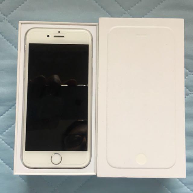 iPhone 6 64g 銀色 無傷