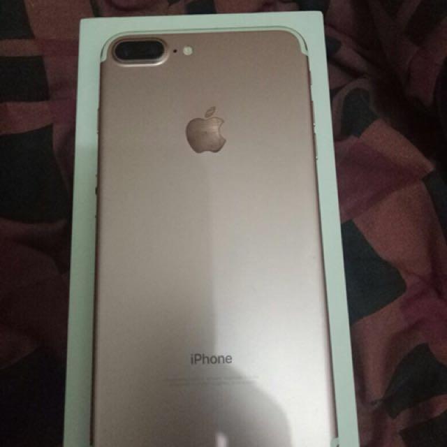Iphone 7+ 128 GB rose gold