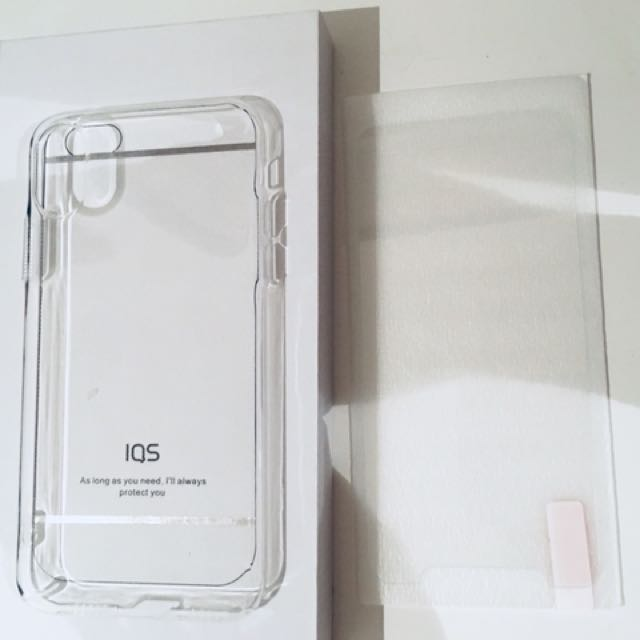iPhone X phone protector and screen protector