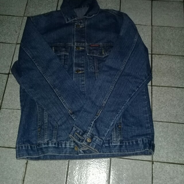 Jaket jeans cowok