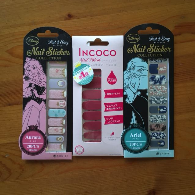 Japan Disney Nail Stickers, Health & Beauty, Hand & Foot Care on ...