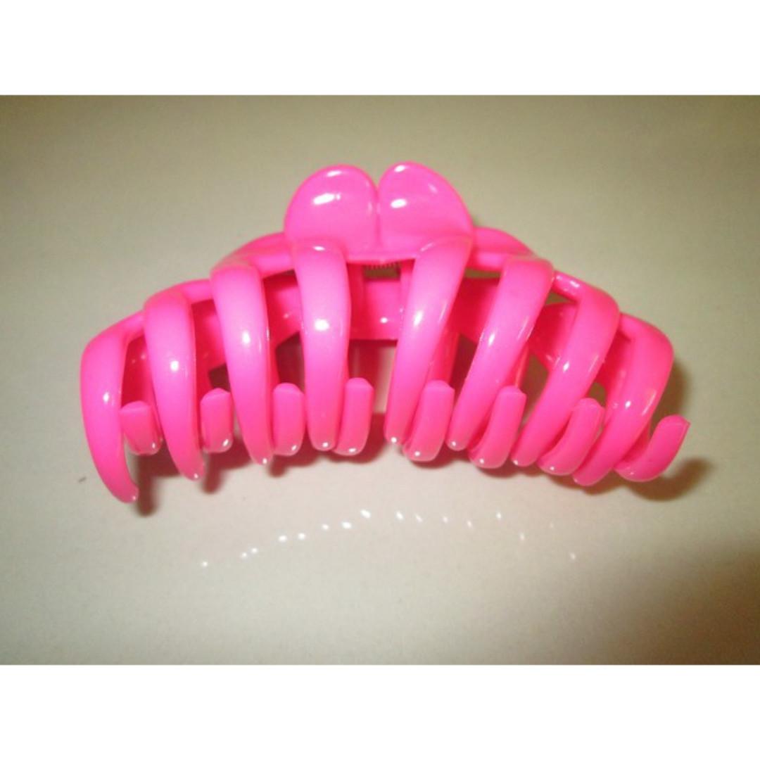 Anne Premium Jedai Jepitan Rambut Untuk Bergelombang Indah Clear Color Pink Idr