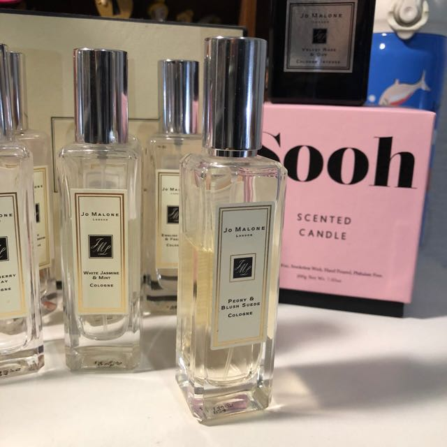 Jo Malone 牡丹與紅麂絨 Peony&blush suede colog 香水