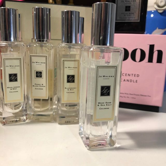 Jo Malone 鼠尾草與海鹽 Wood Sage& sea salt 香水