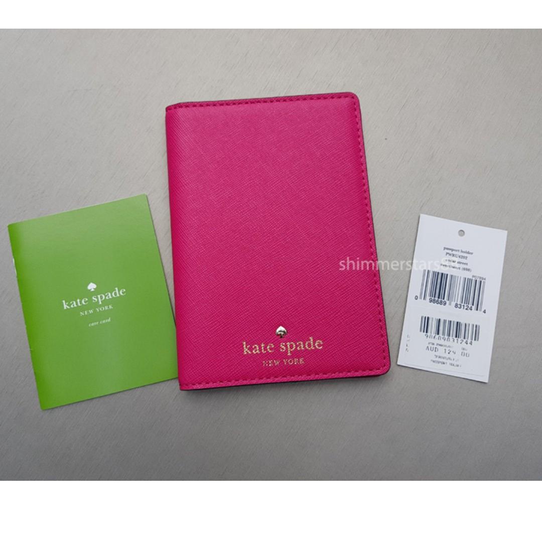 🆕Kate Spade Passport Holder Wallet RRP$129 FREE POST