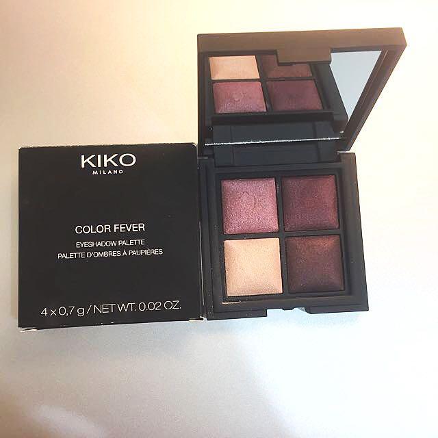 Kiko 四色眼影 #101 義大利製