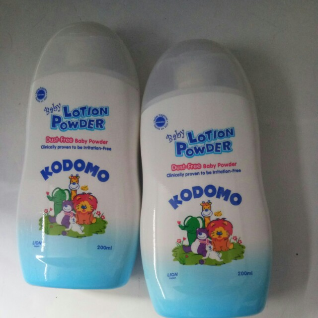 Kodomo lotion powder / bedak lotion anak