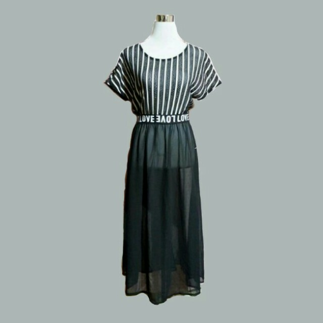 Korean long dress