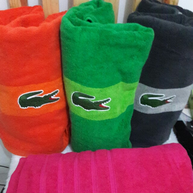 Lacoste Towel Brand New and Authentic