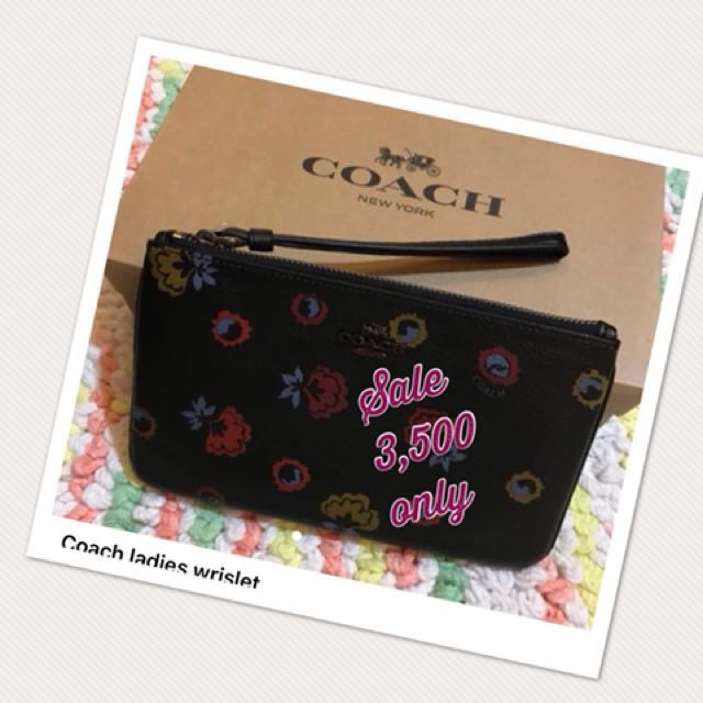 Ladies Coach Zip Wallet