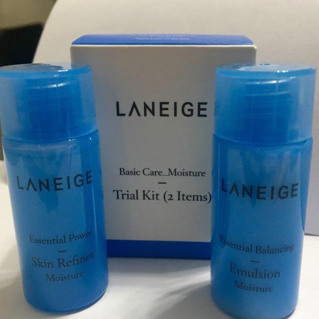 LANEIGE Basic Care_Moisture Trial Kit (2 items) 15ml each