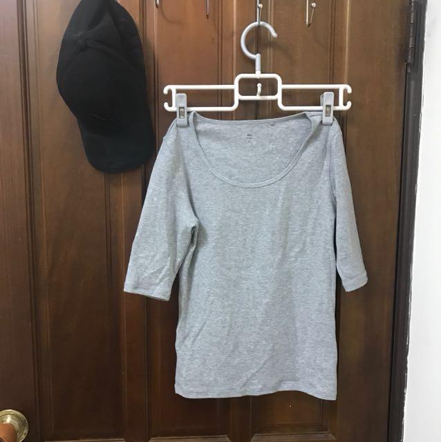 Lativ優質棉素色上衣 #幫你省運費#舊愛換新歡