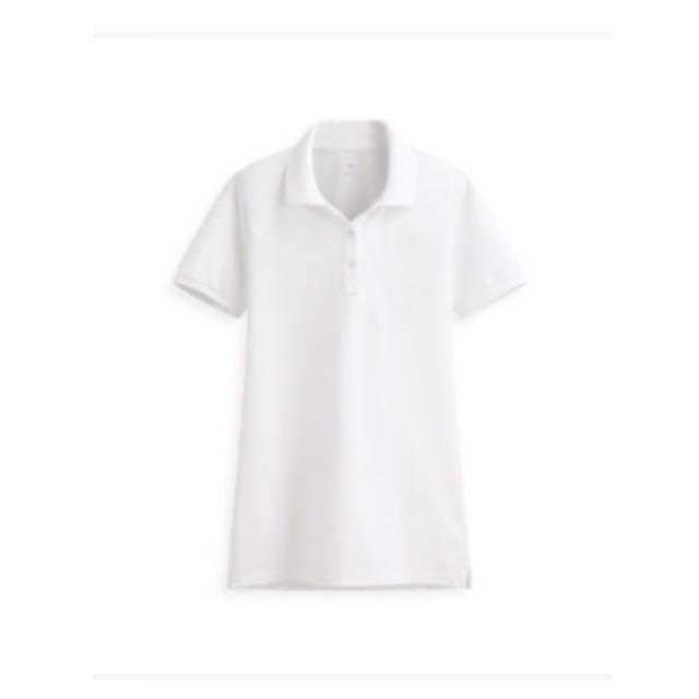 全新lativ 純棉短袖polo衫白色s