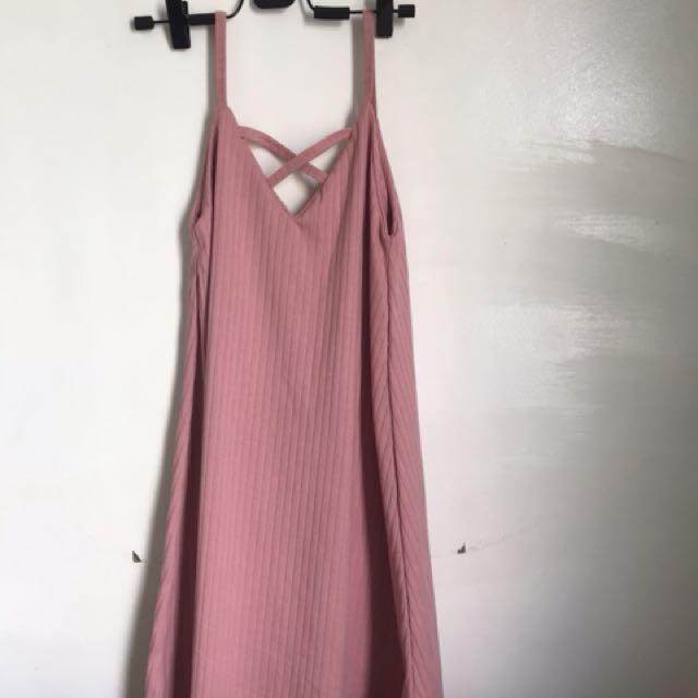 Lazy dress (pink)