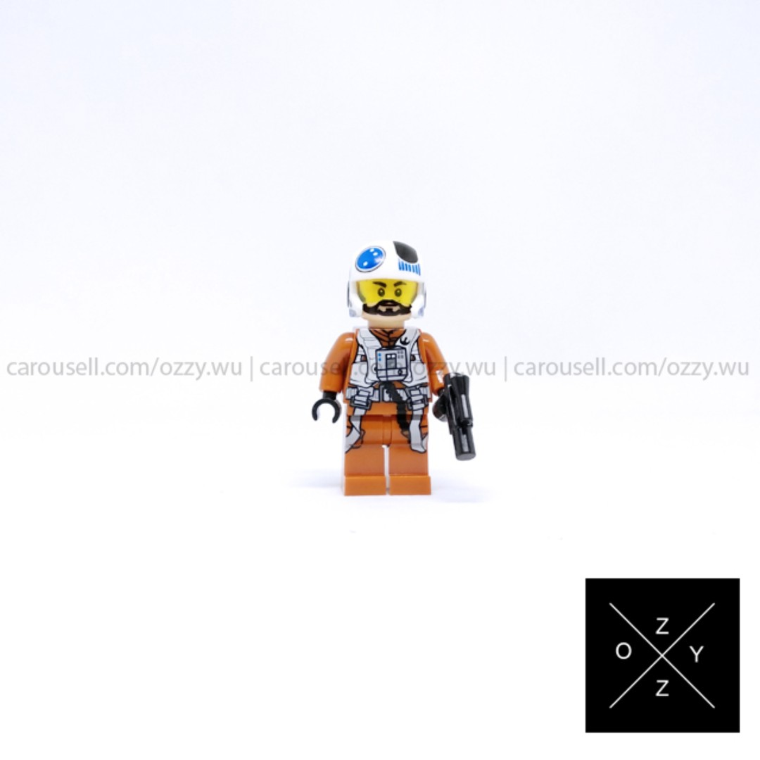 Lego Compatible Star Wars Minifigure - Rebel Pilot