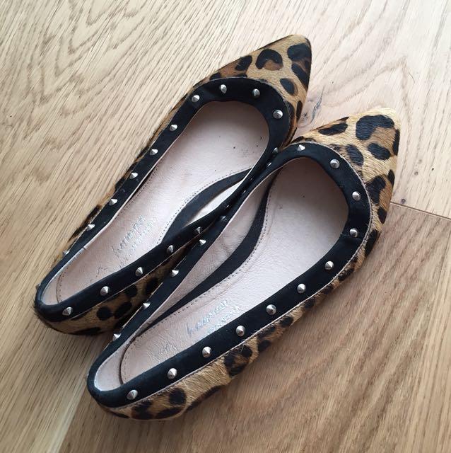 Leopard flats sz37