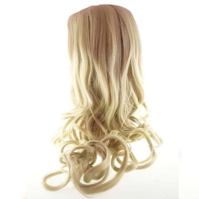 Long blonde wig for Cosplay