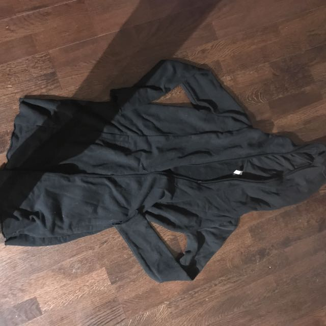 Long jersey cardigan size xs