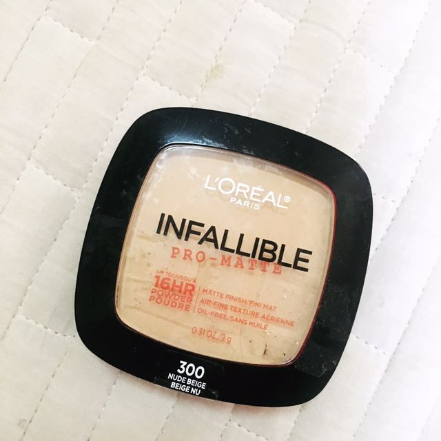 Loreal Infallible Powder