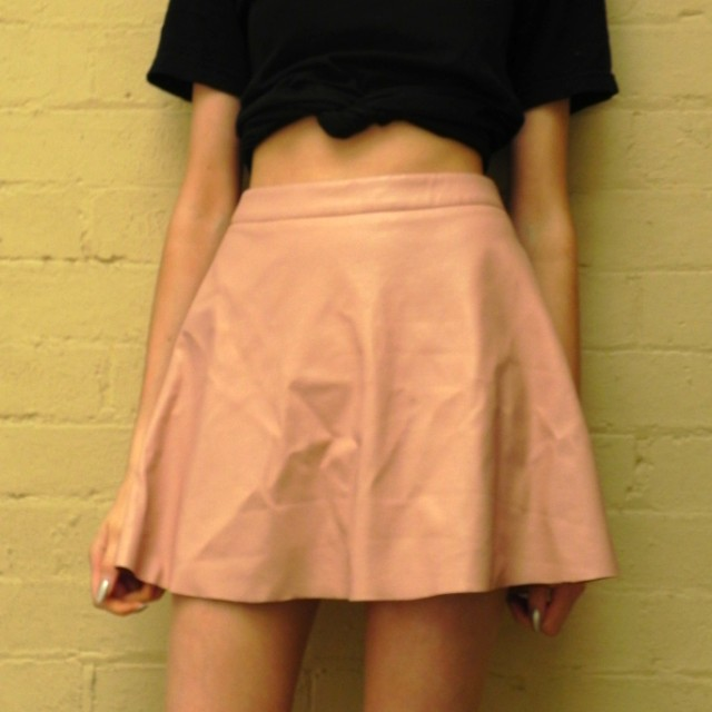 Lulu & Rose dusty pink circle skirt