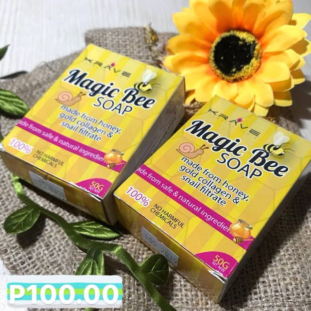 Magic Bee Soap Bundle- Price drop originally 150 each ordered from tarlac.