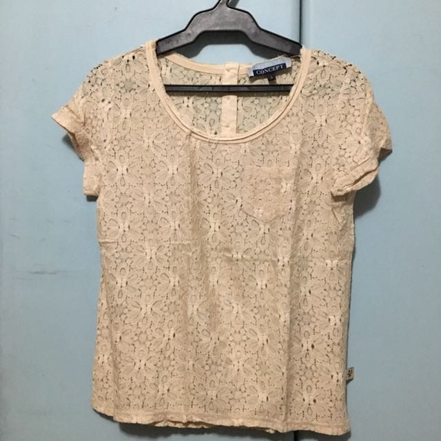 Marine Concepts Lace Top