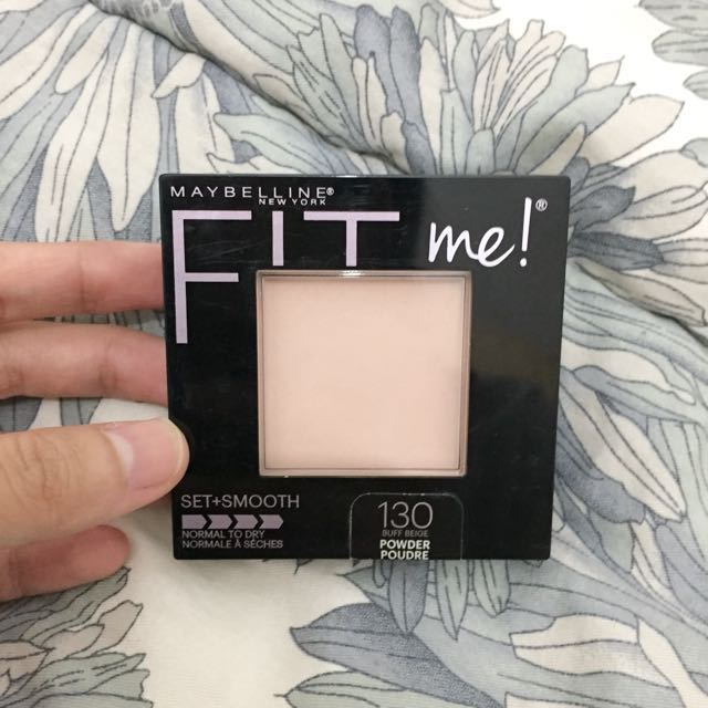 Maybelline Fit me set+smooth Powder shades 130