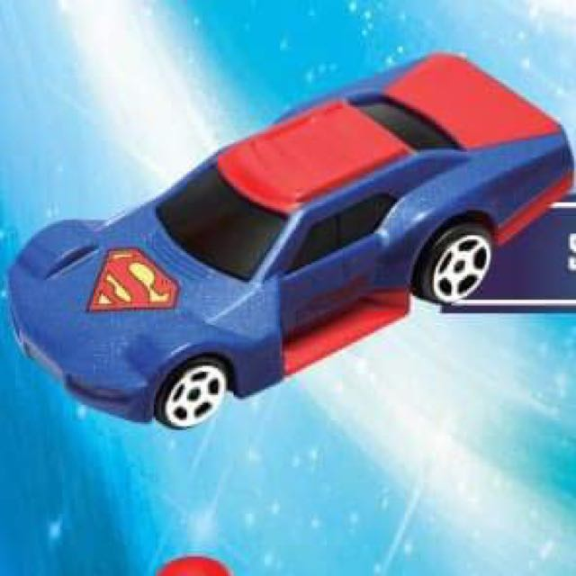 🆕McD Hot Wheels Superman