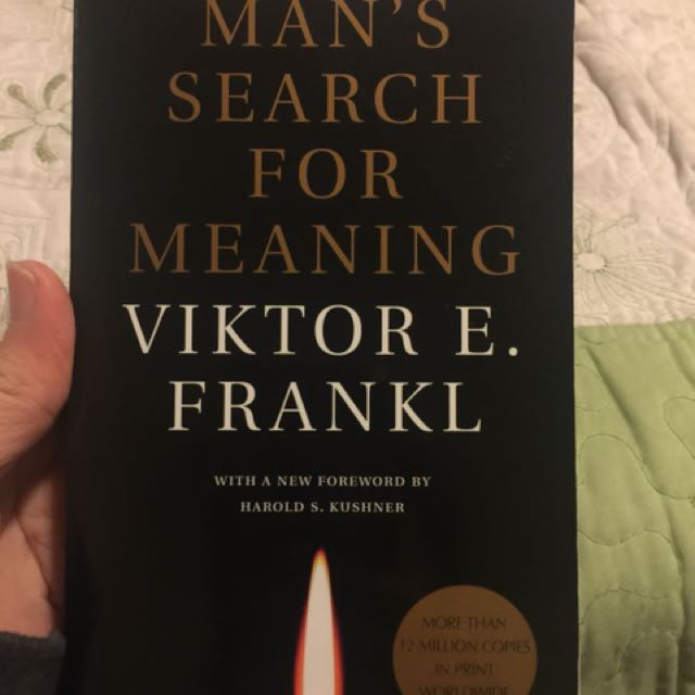 Men's search for meaning