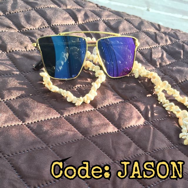 Metal frame reflective sunglasses
