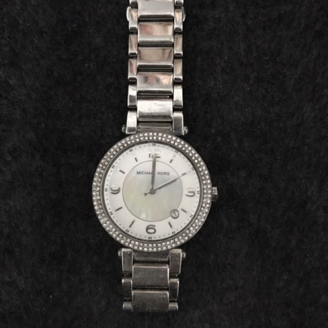 Michael Kors crystal face watch